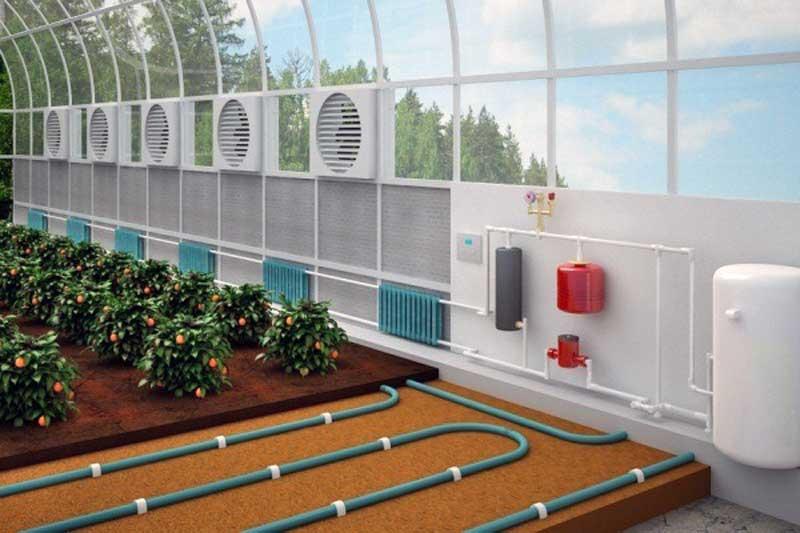 Особенности и технология строительства промышленных теплиц из поликарбоната