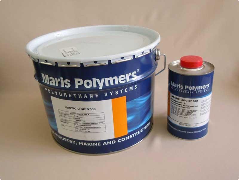 Как выглядит двухкомпонентный полиуретан
