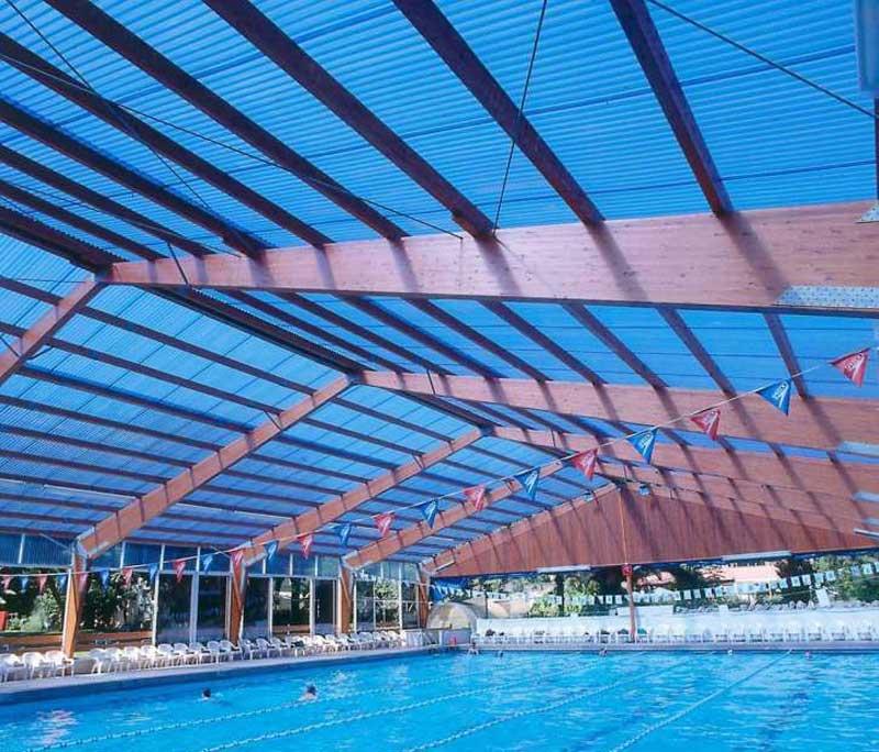 Профилированный поликарбонат для крыши