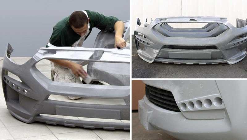 Стеклопластик в автомобилестроении