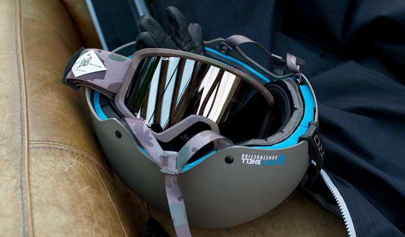 Шлем из вспененного полипропилена