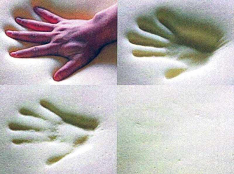 Обратная деформация вспененного полиуретана