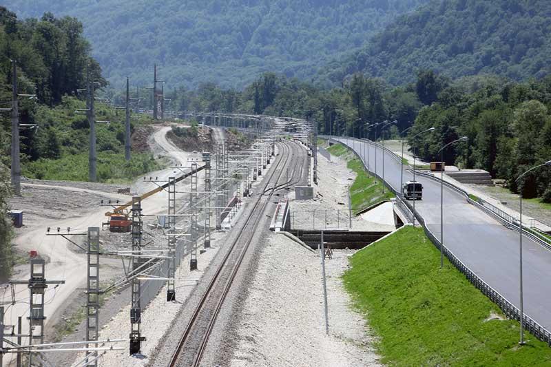 Геотекстиль при возведении железнодорожных насыпей