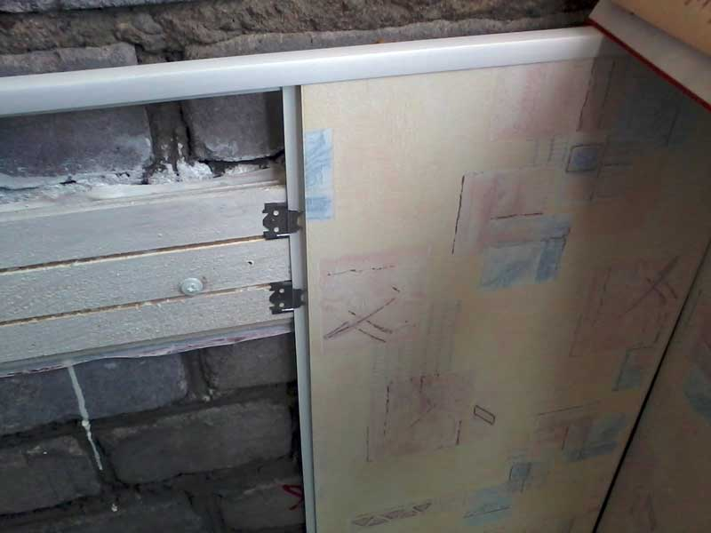 Установка ПВХ панелей в ванной