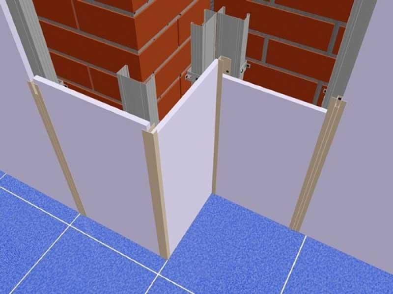 Монтаж ПВХ панелей на стены