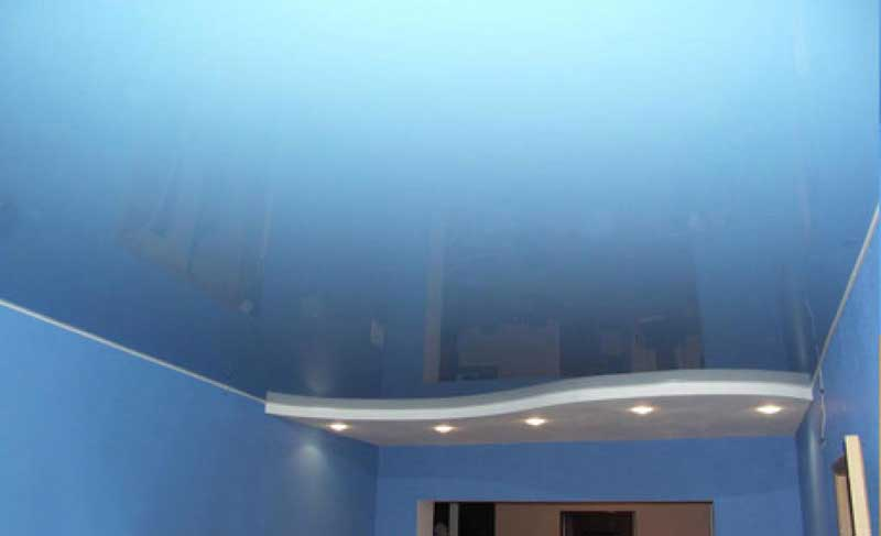 Натяжной потолок из поливинилхлоридной пленки