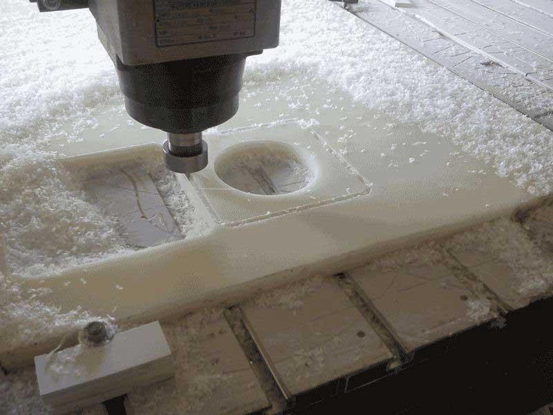 Обработка листового полистерола