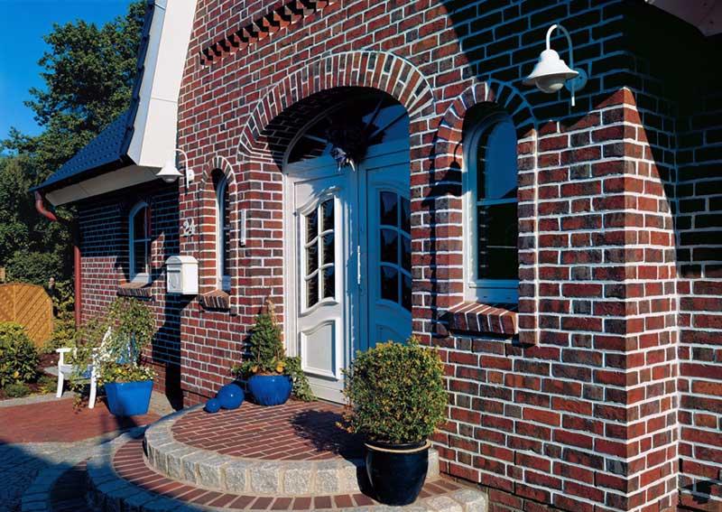 Внешний вид термопанелей фасадных с клинкерной плиткой