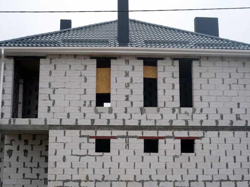Дом из пенополистиролбетона