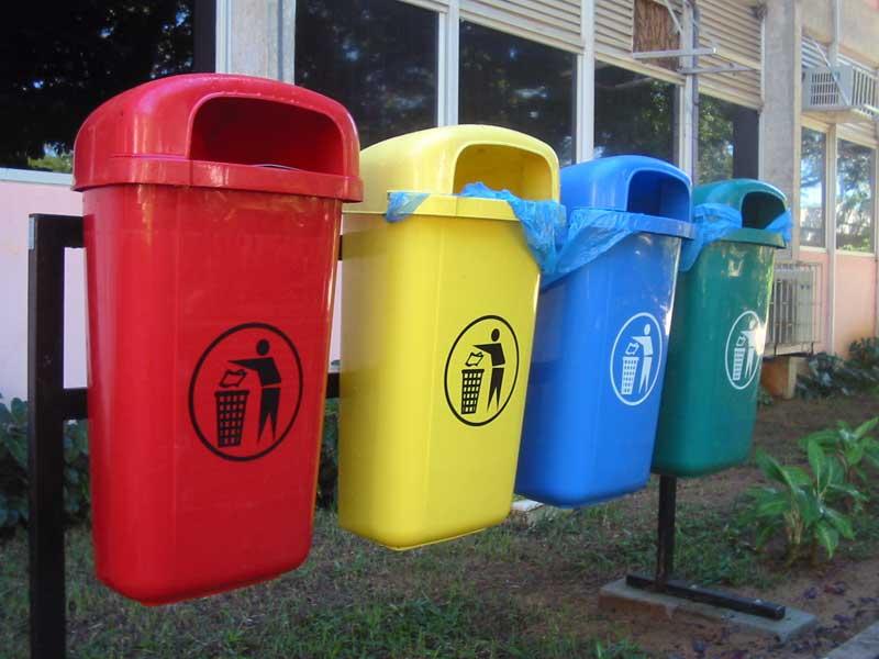 Контейнеры для платиковых отходов