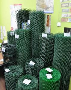 Рулоны пластиковой сетки