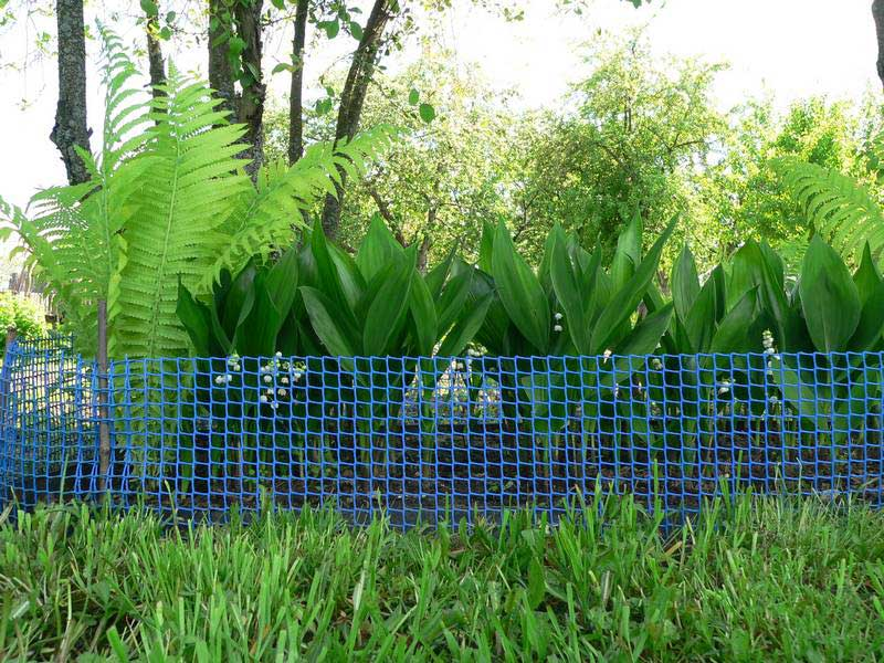 Разновидности пластиковой сетки для ограждения
