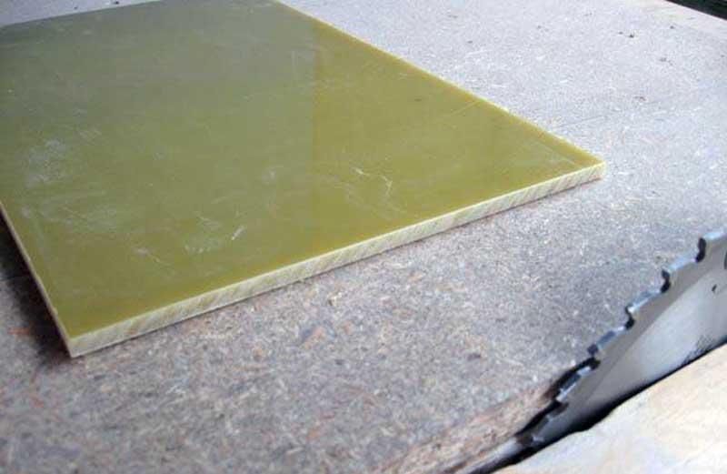 резка стеклотекстолита листового