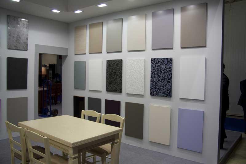 Разновидности акриловых панелей для стен