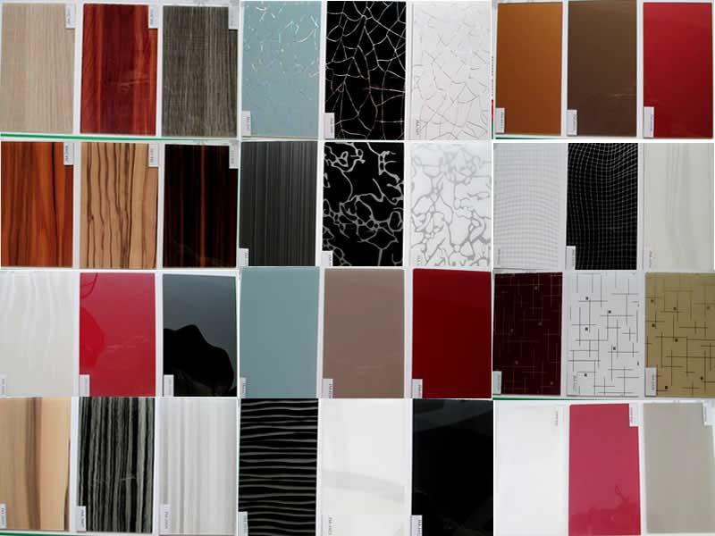 Цветовая гамма акриловых панелей для стен