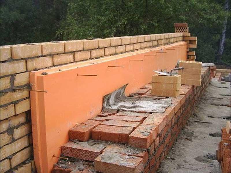 Использование экструзионного пенополистирола в конструкции здания