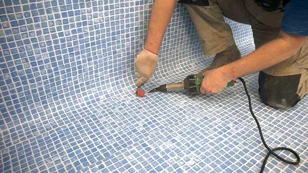 Монтаж ПВХ пленки для бассейнов