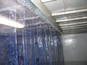 Завеса из мягкого поливинилхлорида