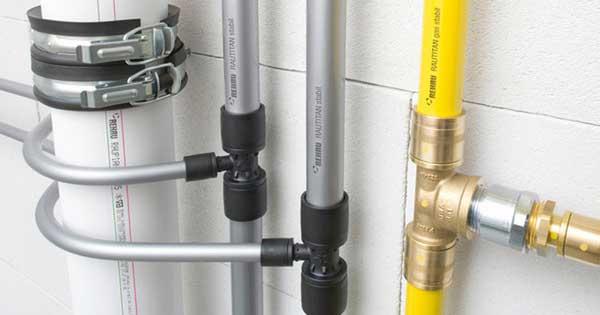 Система водопровода из сшитого полиэтилена