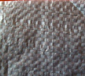 Внешний вид полипропиленовой ткани