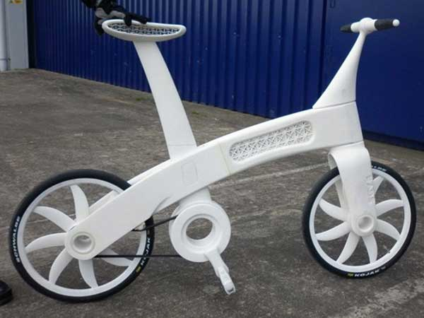 Веловипед, напечатанный на 3D принтере