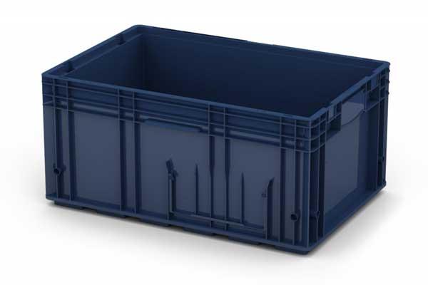 Крупный контейнер из пластика