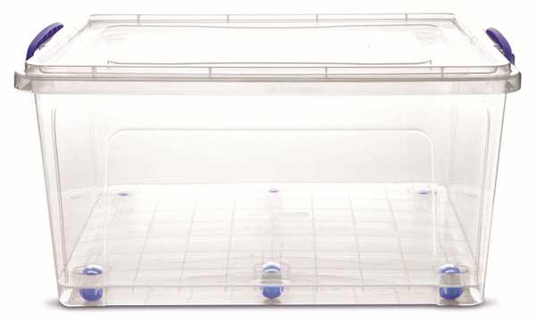Прозрачный пластиковый контейнер