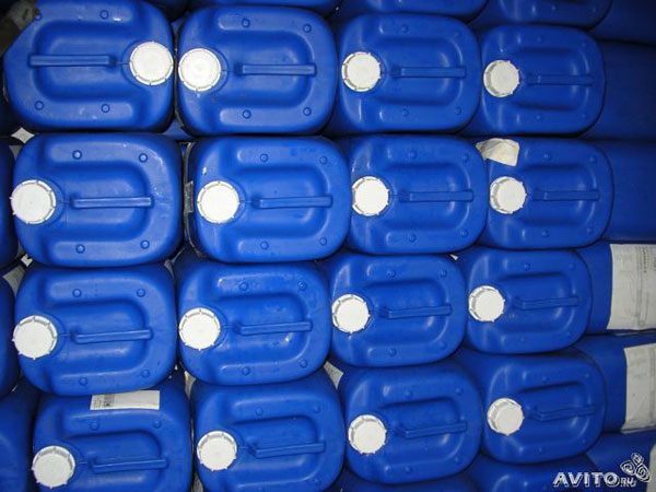 Хранение пластиковых канистр