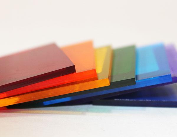 Разноцветный монолитный поликарбонат