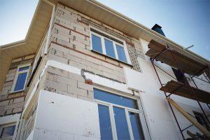 Полимерная теплоизоляция дома