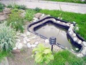Информация о пластиковых садовых прудах