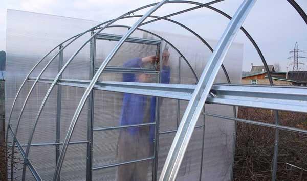 Подготовка обрешетки для теплицы из поликарбоната