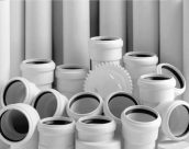 Гладкие и гофрированные ПВХ трубы в системах канализации