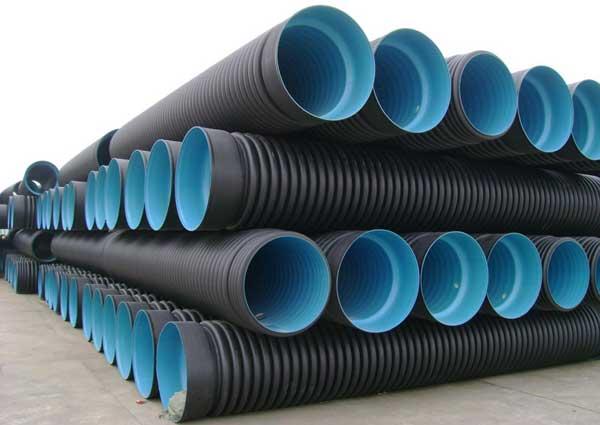 Пластиковые гофрированные трубы большого диаметра