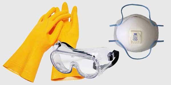 Защитные приспособления при хромировании пластика