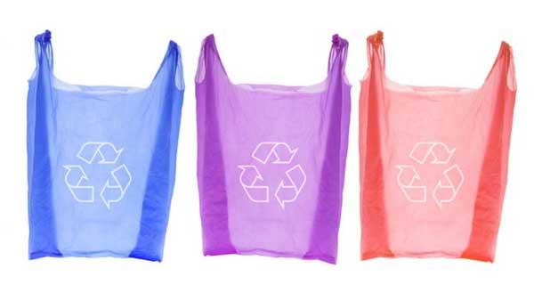 Цветные пластиковые пакеты