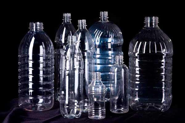 Прозрачная пластиковая тара