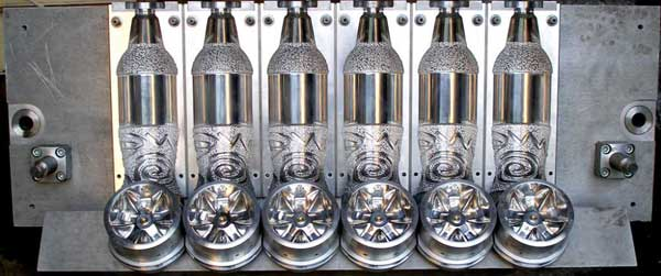 Прессформа для выпуска ПЭТ бутылок
