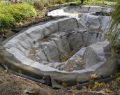 Пленка для пруда в обустройстве искусственного водоема