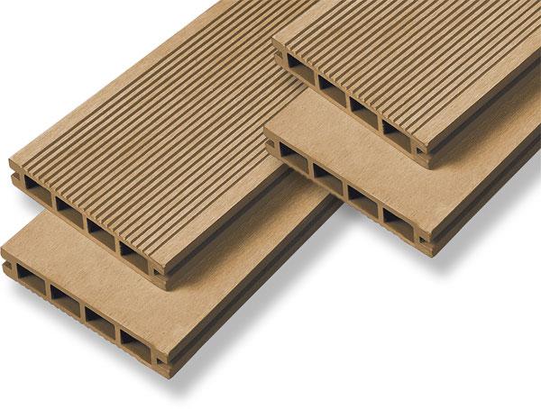 Декинг из древесно-полимерного композита